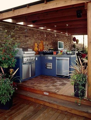 Awesome Outdoor Kitchens Explore Kitchen Ideas and Designs As Well As