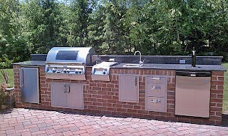 Fire Magic Outdoor Kitchen Traditional New York By Nyc