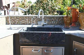 Outdoor Kitchen Sink Station Fascinating Home Design At