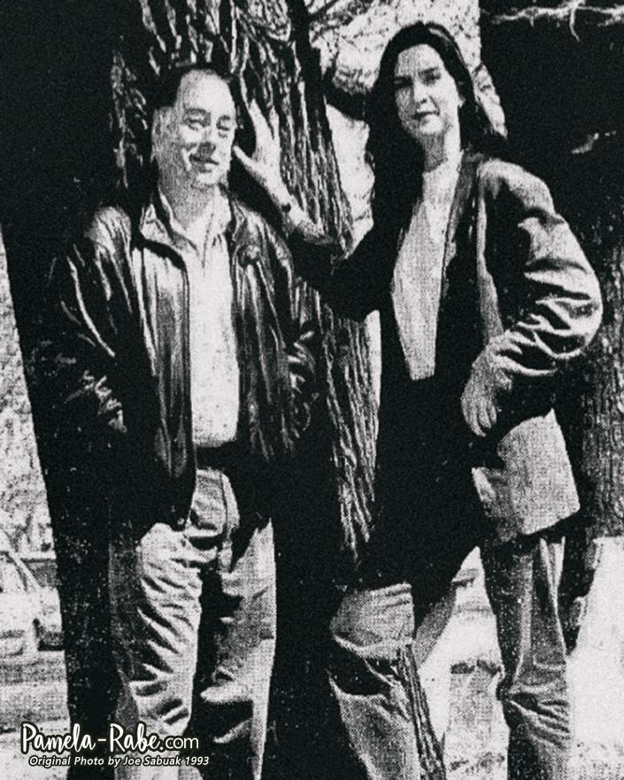 Pamela Rabe & Roger Hodgman | Photo by Joe Sabuak 1993