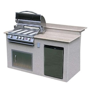 Cal Flame Outdoor Kitchen Shop 4burner Barbecue Grill Island With