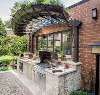 Custom Outdoor Kitchen Designs Creating A