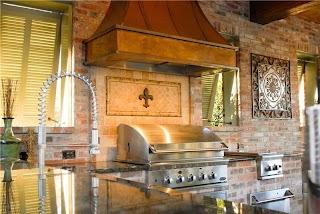 Louisiana Outdoor Kitchens Kitchen Baton Rouge La Photo Gallery Landscaping Network