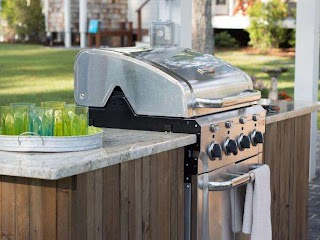 How to Build Outdoor Bbq Kitchen a Grilling Island S Diy