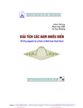 Giải Tích Hàm Nhiều Biến.pdf