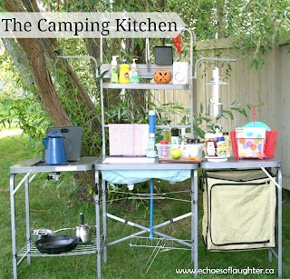 Outdoor Camp Kitchen Create an Ing Echoes of Laughter