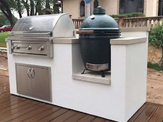 Stucco Outdoor Kitchen Plain on Within Download