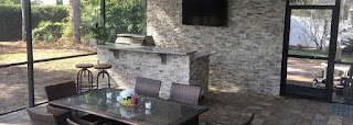 Outdoor Kitchen Orlando Custom Designed S Clermont Grills Lake Mary