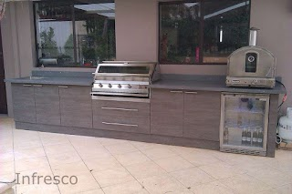 Polymer Cabinets for Outdoor Kitchens Fantastic Barbecue Kitchen