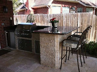 Stone Veneer for Outdoor Kitchen Designing a Wowworthy with Builtins
