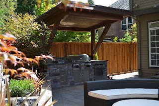 Outdoor Kitchen Roof Ideas Traditional Patio Portland By All Oregon