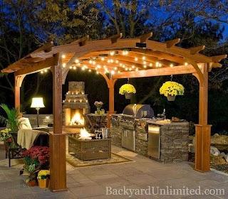 Pergola Kitchen Outdoor 44 Dream Plans Pergula Diy