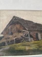 "Tablou ""Casa pe camp"", Eugen Craciun - 152 - poza 2 - Galeria Anton"