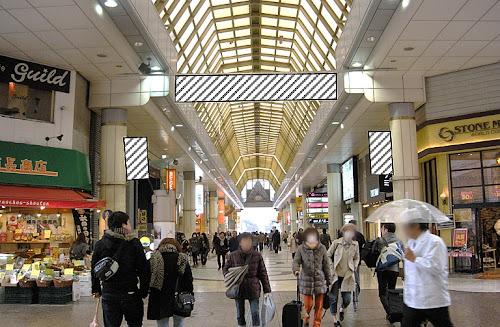 仙台市商店街 アーケードフラッグ&横断幕