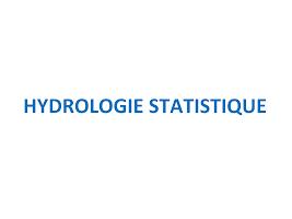 Hydrologie Statique.ppt