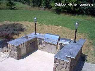U Shaped Outdoor Kitchen Pin By Jim Wildaer on Otdoor S in 2019 Patio