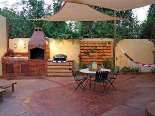 Outdoor Kitchen Small Space Ideas Pictures Tips From Hgtv Hgtv