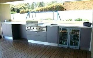 Weatherproof Outdoor Kitchen Cabinets Home