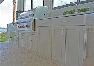 Polymer Cabinets for Outdoor Kitchens Premium Kitchen Tampa Bay Area