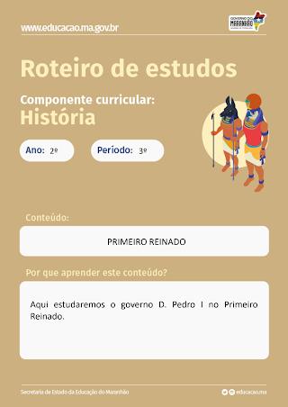 PRIMEIRO REINADO