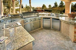 Granite for Outdoor Kitchen Countertops The Big Family Bbq