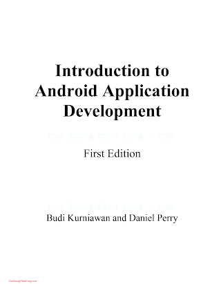 0992133009 {D5DD2070} Introduction to Android Application Development [Kurniawan _ Perry].pdf