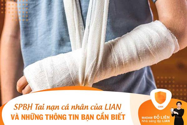 Sản phẩm bảo hiểm Tai nạn cá nhân của LIAN và những thông tin bạn cần biết