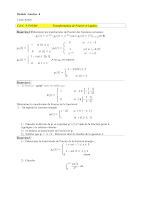 Td sur Transformation de Fourier et de Laplace Analyse 4 Epsto.pdf