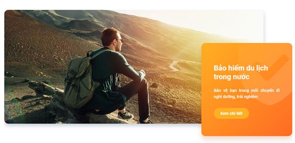 Hướng dẫn mua sản phẩm Bảo hiểm Du lịch trong nước trên App bảo hiểm LIAN