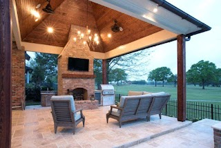 Outdoor Kitchens in Baton Rouge Pool with Kitchen Pools General