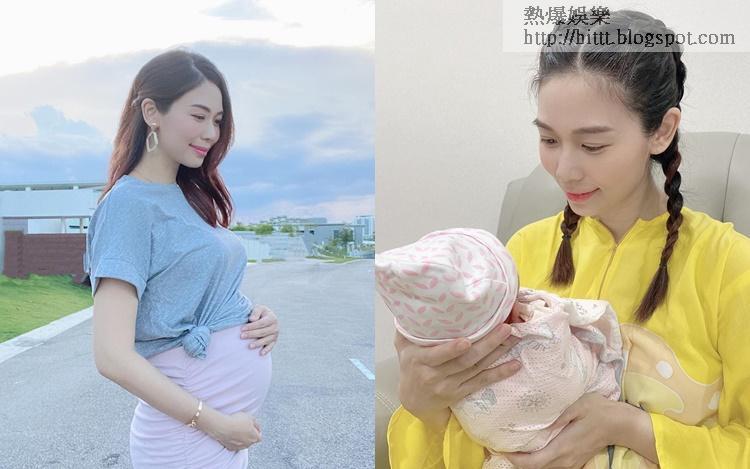 楊秀惠指雖然疫下拍不到孕肚寫真,但能與肚中的女兒合照已滿足。