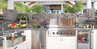 Outdoor Kitchen Equipment Appliances Landscaping Network