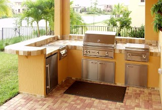 Outdoor Kitchens Florida Barbeque Bbq Grill