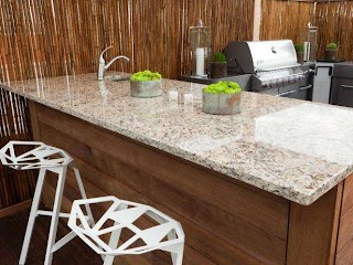 Outdoor Kitchen Countertops Pictures Tips Expert Ideas Hgtv