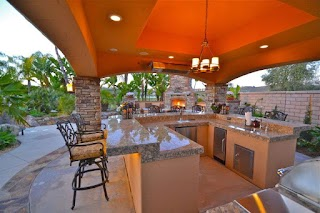 California Outdoor Kitchens Smartscape4s Ranch Traditional Style Kitchen