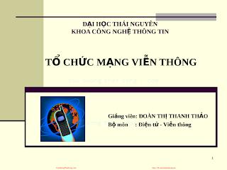 Slide.Tổ Chức Mạng Viễn Thông 2010 - Đoàn Thị Thanh Thảo, 154 Trang.pdf
