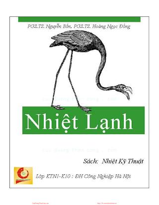 Nhiệt Kỹ Thuật - Pts. Nguyễn Bốn & Pts. Hoàng Ngọc Đồng, 145 Trang.pdf