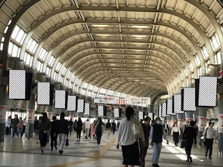 J・ADビジョン 品川駅自由通路セット