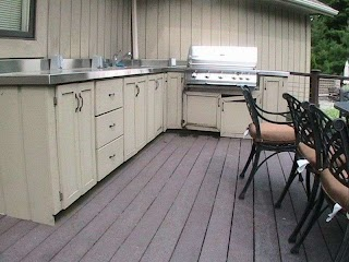 Outdoor Kitchen Doors and Drawers Materials for Cabinets