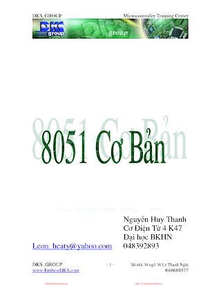 Giáo Trình 8051 Cơ Bản - Nguyễn Huy Thanh, 128 Trang.pdf