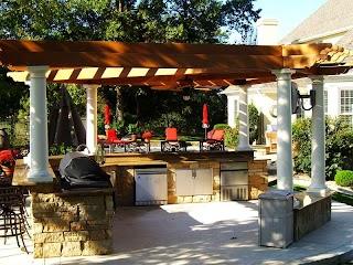 Outdoor Kitchen Designs with Pergolas Jo Home