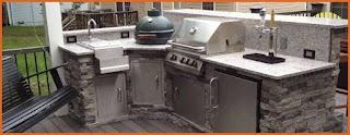 Diy Outdoor Kitchens Kits Professional Kitchen Bbq Island Bbq Coach