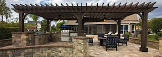 Outdoor Kitchen with Firepit Nacogdoches S Longview Fireplaces Fire Pits