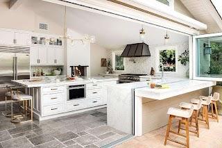 Indoor Outdoor Kitchens Kitchen Design Transitional Kitchen