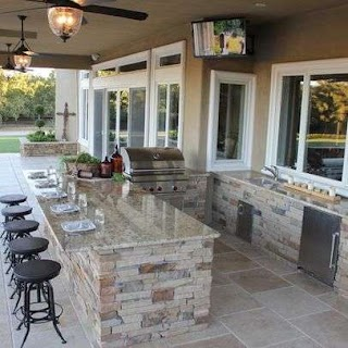 Houzz Outdoor Kitchen Home Design Decorating and Remodeling
