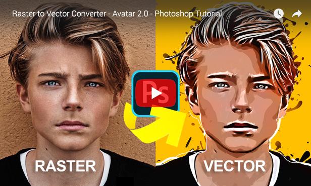 Vector Converter - Avatar - Photoshop Plugin - 5