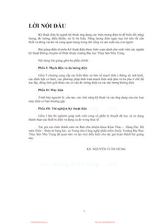 Giáo Trình Kỹ Thuật Điện - Ks.Nguyễn Tuấn Hùng, 111 Trang.pdf