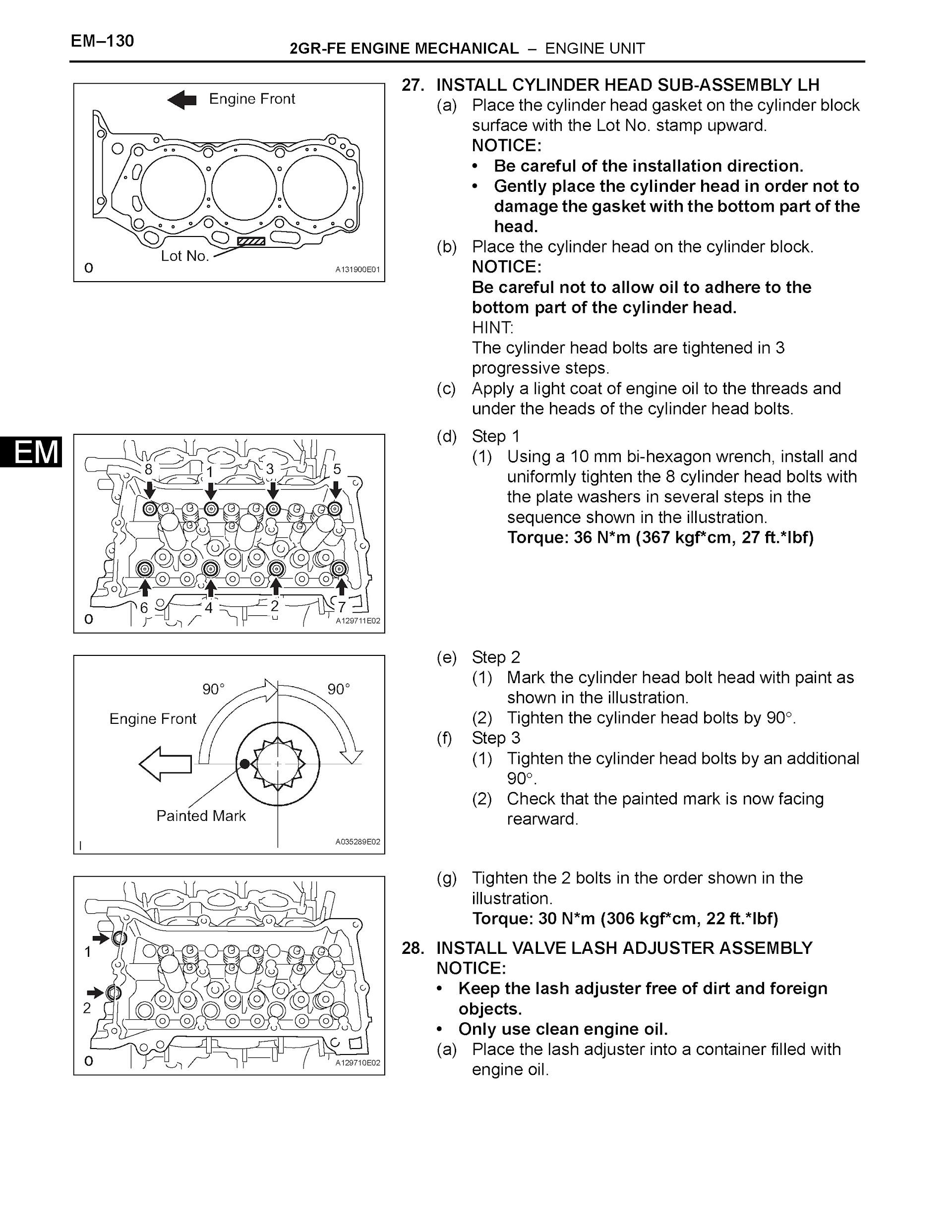 Download 2007-2011 Toyota Camry Service Repair Manual.