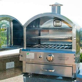 Outdoor Kitchen Gas Oven Pacific Living Counter Pizza Pl8304ss in 2019