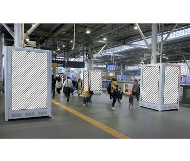 TOQサイネージピラー 二子玉川駅